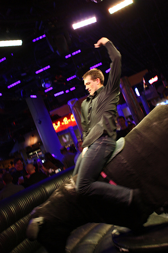 Robert Brady Riding the Bull