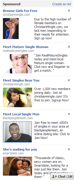Facebook Dating Ads