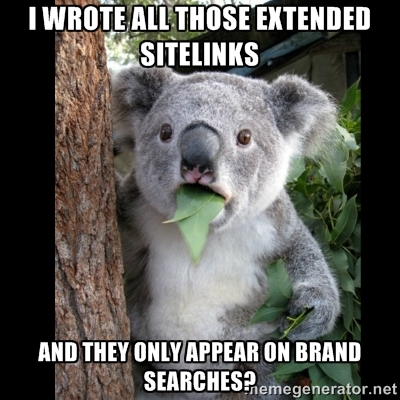 AdWords Extended Sitelinks