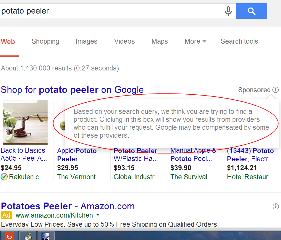 Potato Peeler (i)