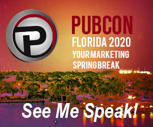 See Me Speak At Pubcon Florida 2020